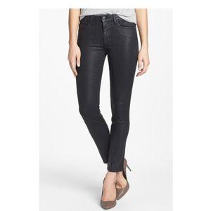 Joe's Jeans The Skinny Black Coated